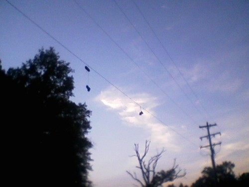 hangingshoes